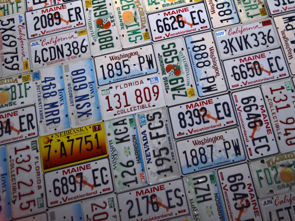 Old License Plates Here S 20 Ingenious Projects You Can Do